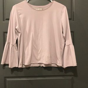 Bell sleeve top from A&F